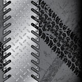 Абстрактная промышленная предпосылка с влиянием grunge бесплатная иллюстрация