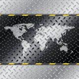 Абстрактная промышленная предпосылка с картой иллюстрация штока