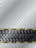 Абстрактная промышленная предпосылка с следом автошины иллюстрация вектора