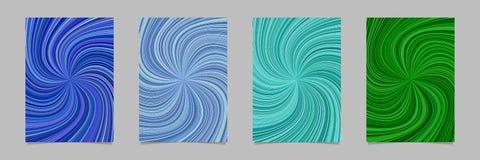 Абстрактная психоделическая striped предпосылка плаката картины вортекса Стоковая Фотография RF