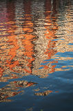 абстрактная пульсация предпосылки Стоковое Изображение