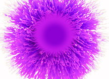 Абстрактная пурпуровая щетка Стоковое Фото