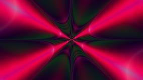 Абстрактная пластичная красочная предпосылка звезды с взаимообменивая взрывая поднимая декоративной картиной лучей и лучей, видео иллюстрация штока