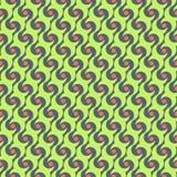 Абстрактная племенная картина батика Стоковые Изображения RF