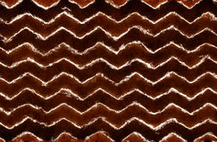 Абстрактная племенная картина зигзага Стоковое Изображение
