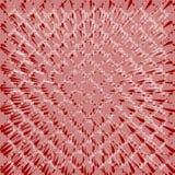 Абстрактная плитка предпосылки с деформированной белой решеткой на темноте - красной поверхности, элементе украшения, overlay шаб иллюстрация штока