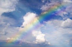 абстрактная радуга Стоковое Изображение RF