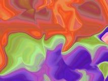 абстрактная радужка Стоковые Фотографии RF