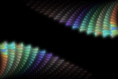 абстрактная раковина цвета предпосылки иллюстрация штока