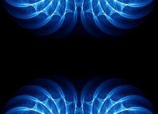 Абстрактная рамка границы фрактали Стоковая Фотография RF