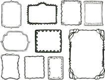 абстрактная рамка конструкции бесплатная иллюстрация