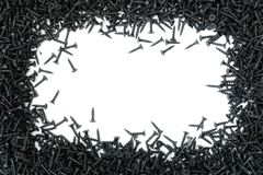 Абстрактная рамка от само-выстукивая винтов Стоковые Изображения RF