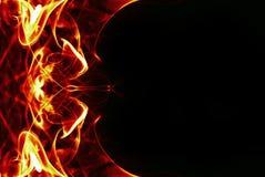 абстрактная рамка пожара Стоковые Изображения