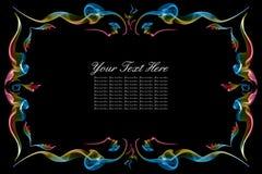 абстрактная рамка цвета Стоковая Фотография RF
