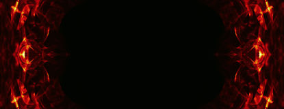 Абстрактная рамка чужеземца Стоковые Фото