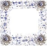 Абстрактная рамка для поздравительной открытки Стоковые Фотографии RF
