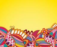 Абстрактная рамка doodle Стоковая Фотография RF