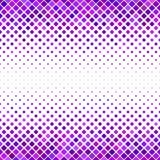 Абстрактная раскосная квадратная предпосылка картины - векторная графика от квадратов в фиолетовых тонах Стоковые Фотографии RF