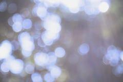 Абстрактная расплывчатая предпосылка bokeh и природы светлая Стоковые Фото