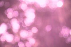 Абстрактная расплывчатая предпосылка bokeh и природы светлая Стоковые Изображения RF