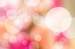 Абстрактная расплывчатая розовая предпосылка Стоковое Изображение RF