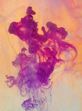 абстрактная растворяя краска Стоковое Фото
