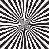 Абстрактная радиальная предпосылка взрыва солнца Стоковое Фото