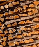 абстрактная древесина предпосылки куча швырка картины сухая для разжигать печи прерванные журналы швырка Стог швырка Стоковое фото RF