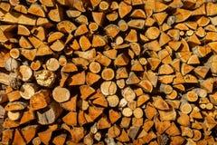 абстрактная древесина предпосылки Куча швырка текстуры сухая для разжигать печи прерванные журналы швырка Стог швырка Стоковые Изображения RF