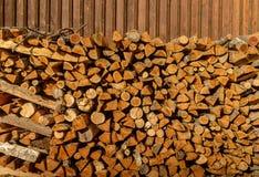 абстрактная древесина предпосылки Текстурируйте кучу швырка f сухую для разжигать печи прерванные журналы швырка Стог швырка Стоковая Фотография