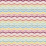 Абстрактная ретро геометрическая безшовная картина Стоковое фото RF