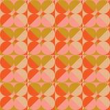 Абстрактная ретро геометрическая предпосылка Стоковые Изображения RF