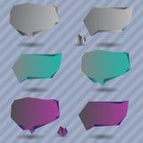 абстрактная речь пузыря Стоковые Фотографии RF