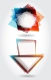 абстрактная речь стрелки Стоковая Фотография RF