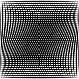 Абстрактная решетка, картина сетки с эффектом искажения Стоковое фото RF