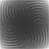 Абстрактная решетка, картина сетки с эффектом искажения Стоковая Фотография RF