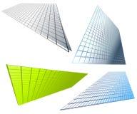 абстрактная решетка предпосылок сформировала Стоковая Фотография RF