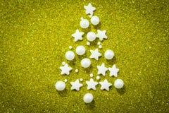 абстрактная рождественская елка предпосылки Стоковое Фото
