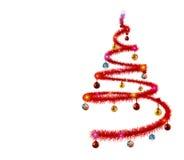 абстрактная рождественская елка Стоковая Фотография