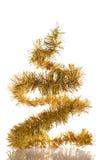 абстрактная рождественская елка Стоковые Изображения