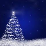 абстрактная рождественская елка Стоковое Фото