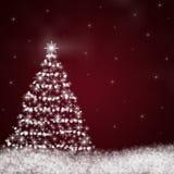 абстрактная рождественская елка Стоковые Фотографии RF