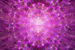 Абстрактная розовая геометрическая картина Стоковые Фото