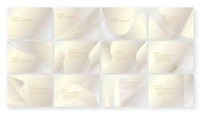 Абстрактная розовая предпосылка с космосом текста Комплект современного шаблона стоковые изображения