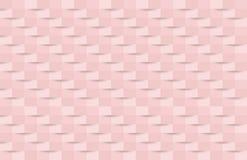 абстрактная розовая текстура Стиль искусства бумаги предпосылки 3d вектора может иллюстрация штока