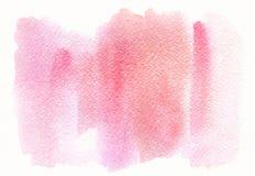 Абстрактная розовая ультрамодная предпосылка акварели, развод, пятно Конструируйте элемент для карточек поздравлению, печать, зна стоковые фотографии rf