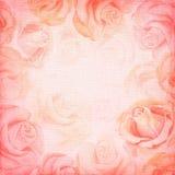 Абстрактная романтичная розовая квадратная предпосылка бесплатная иллюстрация