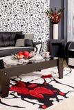 абстрактная роскошная софа Стоковая Фотография