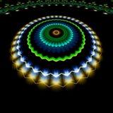 абстрактная роскошь предпосылки Компьютер Ilustrations произвел иллюстрация вектора