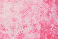 абстрактная рука покрасила акварель на предпосылке бумаги картины Стоковые Изображения